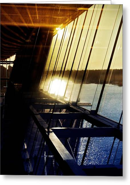 Greeting Card featuring the photograph Structural Vision by JM Photography