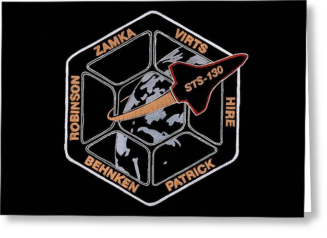 Sts-130 Greeting Card by Jim Ross