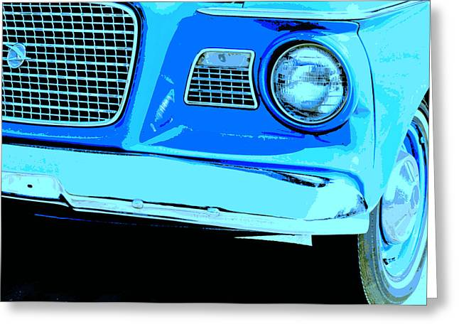 Studebaker Greeting Card by Elizabeth Budd