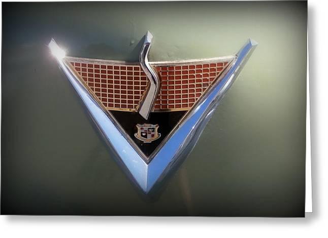 Studebaker Emblem Greeting Card by Karyn Robinson