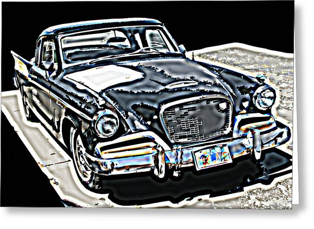 Studebaker Golden Hawk 1 Greeting Card