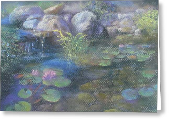 Study For Water Garden Greeting Card