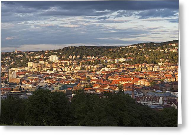Stuttgart, Germany, Europe Greeting Card by Jon Boyes