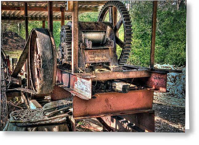 Sugar Cane Mill Greeting Card by Tamyra Ayles