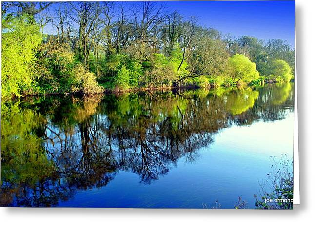 Suir Reflections Greeting Card