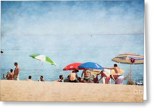 Summer By The Sea Greeting Card by Mary Machare