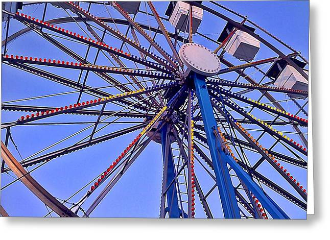 Summer Festival Ferris Wheel Greeting Card