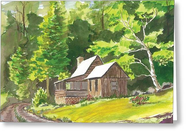 Summer Home Greeting Card