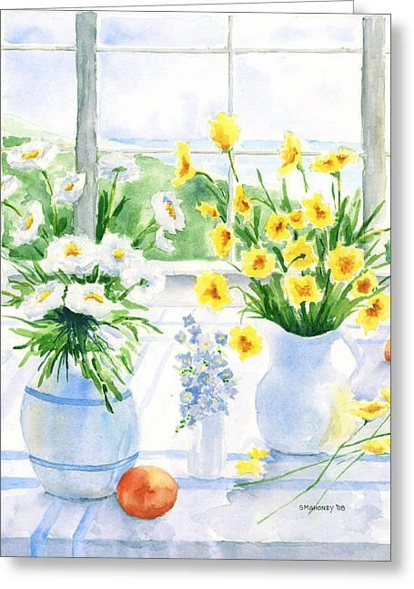 Summer Light Greeting Card by Susan Mahoney