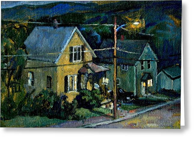 Summer Nocturne Greeting Card by Thor Wickstrom