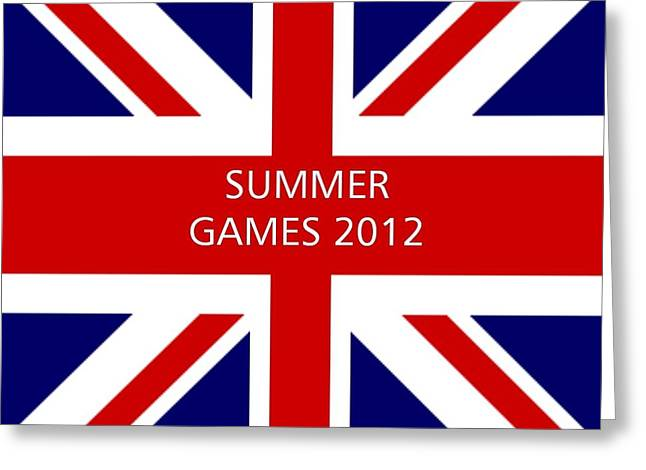 Summer Olympics In U.k. Greeting Card by Florene Welebny