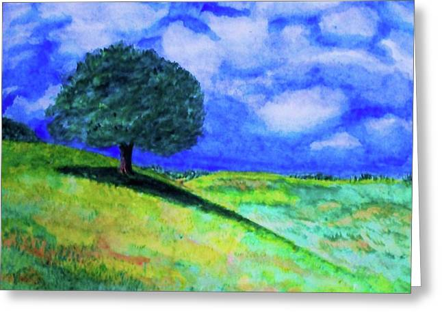 Summer Shade Greeting Card by Jeanette Stewart