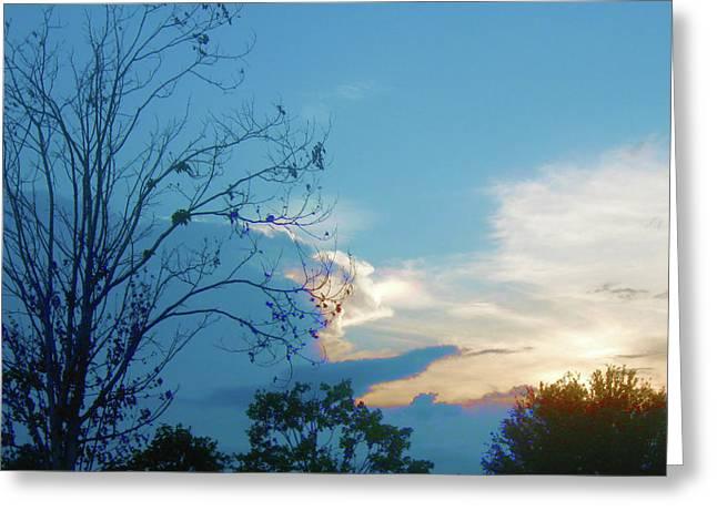 Summer Sky Greeting Card by Juliana  Blessington