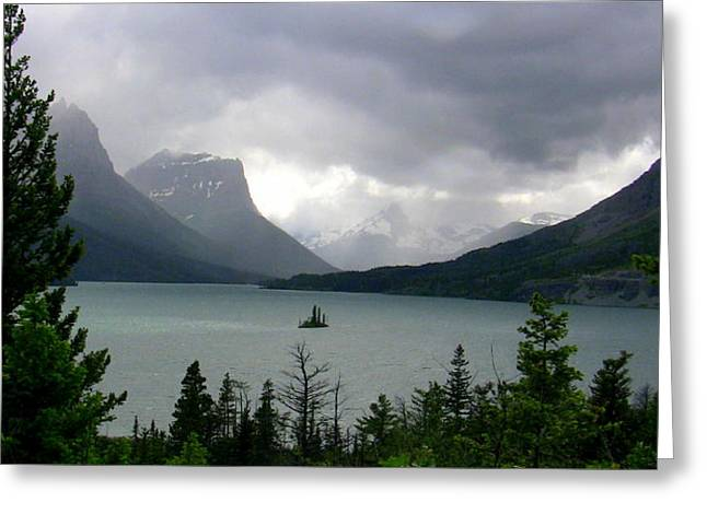 Summer Storm Over Wild Goose Island Greeting Card by Lani PVG   Richmond