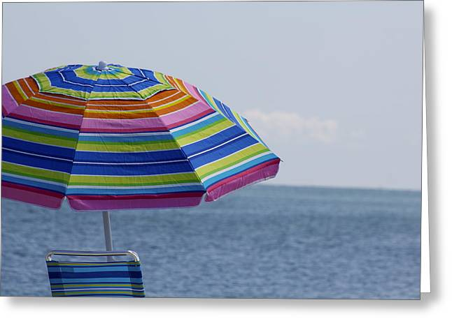 Summertime Greeting Card by Amy Holmes