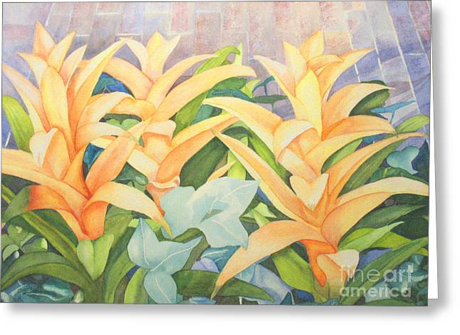 Sun Drenched Greeting Card by Vikki Wicks