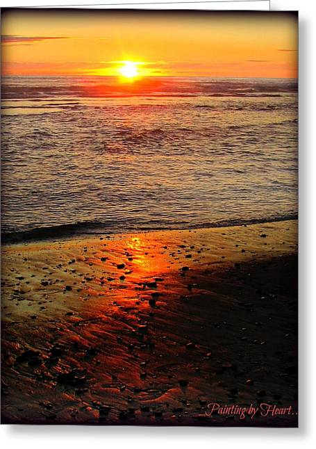 Greeting Card featuring the photograph Sun Kissed by Deahn      Benware