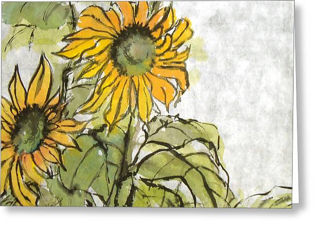 Sun Mum Pair Greeting Card