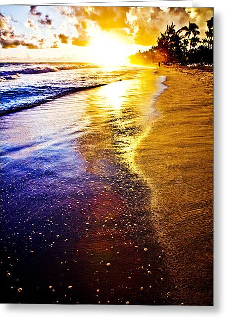 Sun Sand And Symphony Greeting Card