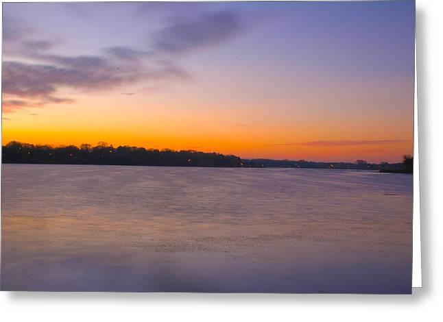 Sun Up Greeting Card by David Wohlfeil