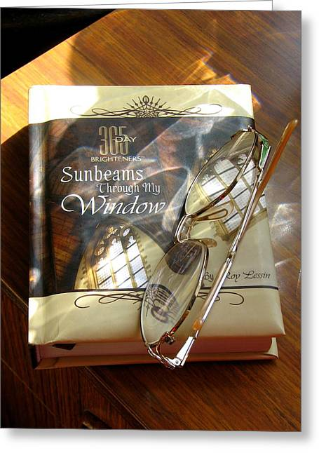 Sunbeams Greeting Card by Carla Parris