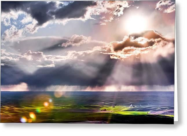 Sunburst 2 Greeting Card