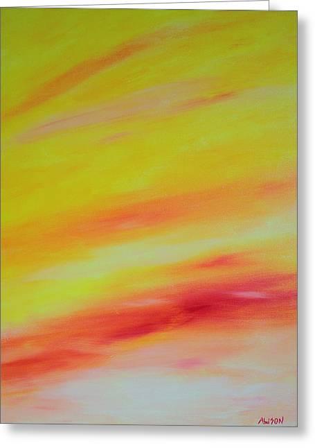 Sundunes Greeting Card by Tony Allison