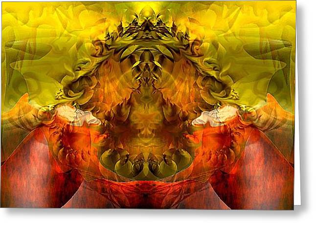 Sunflower Greeting Card by Dave Kwinter
