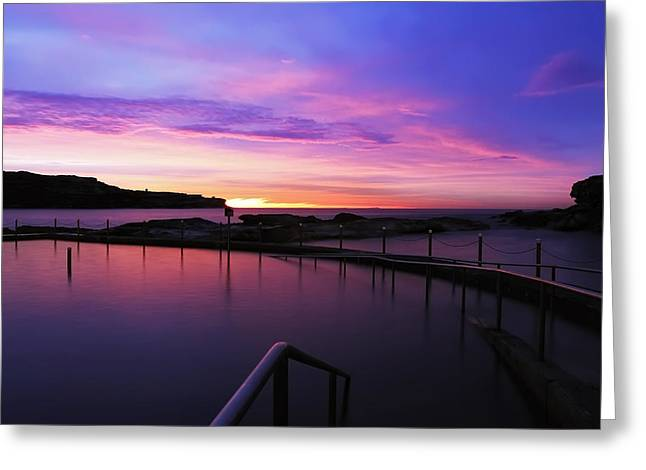 Sunrise - Malabar Baths Greeting Card