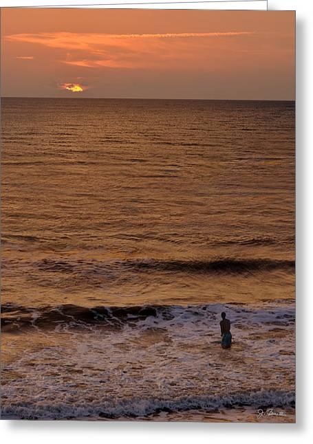Sunrise At Jacksonville Greeting Card