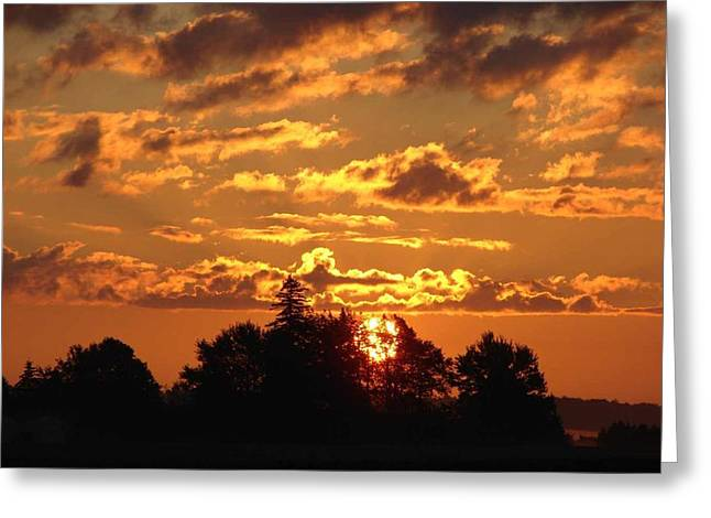 Sunrise At Ravenswood Greeting Card by Bruce Ritchie