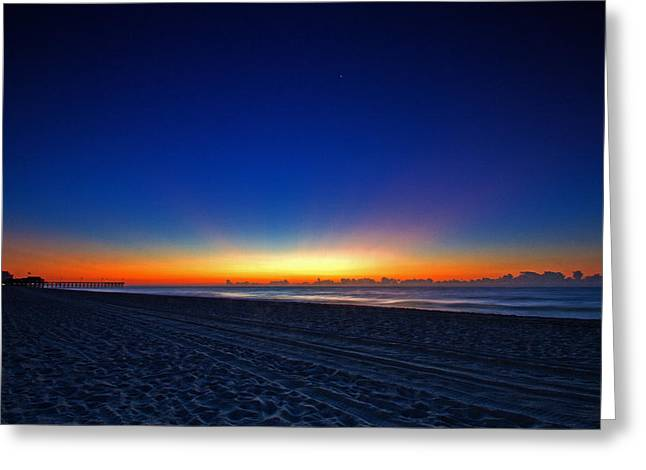 Sunrise At The Beach IIi Greeting Card