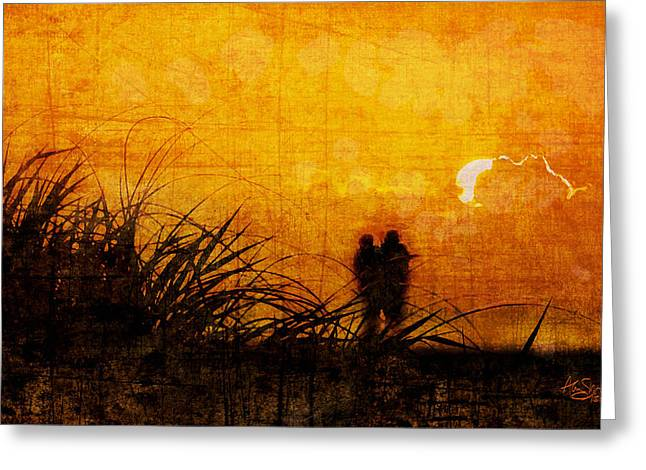 Sunrise Couple Greeting Card
