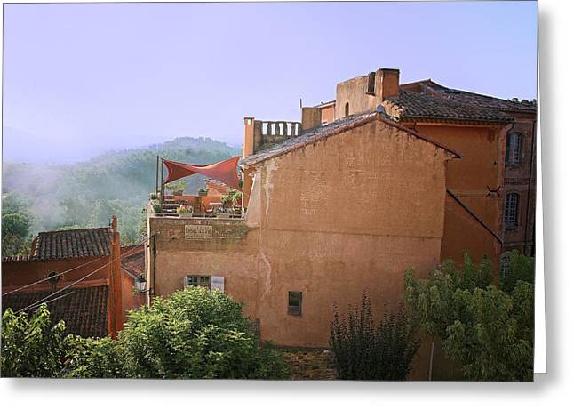 Sunrise In Roussillon Greeting Card
