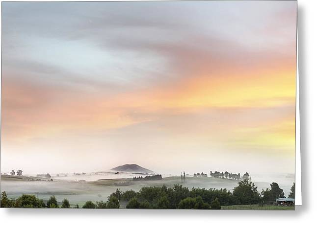 Sunrise Greeting Card by Les Cunliffe