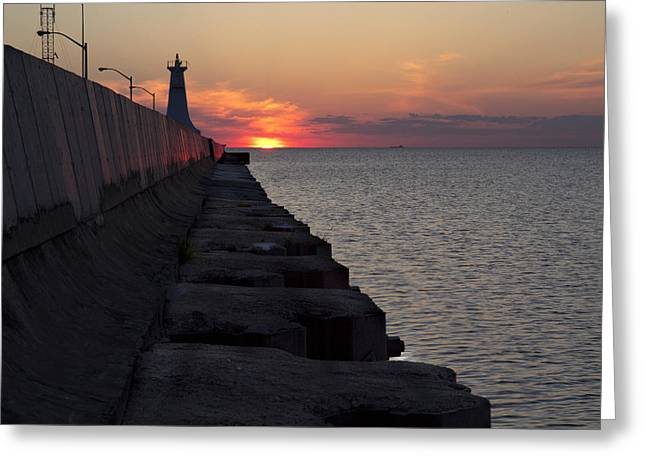 Greeting Card featuring the photograph Sunrise by Nick Mares