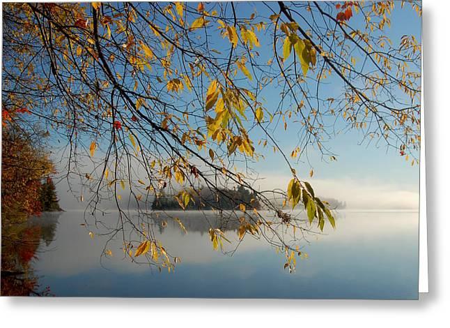 Sunrise On Low's Lake Greeting Card