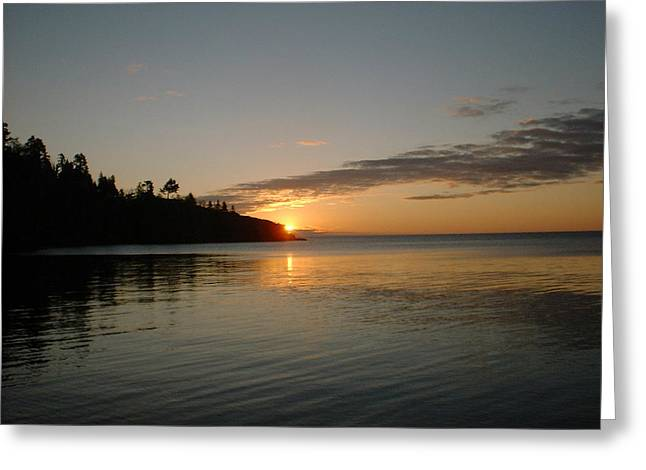 Sunrise On Superior Greeting Card