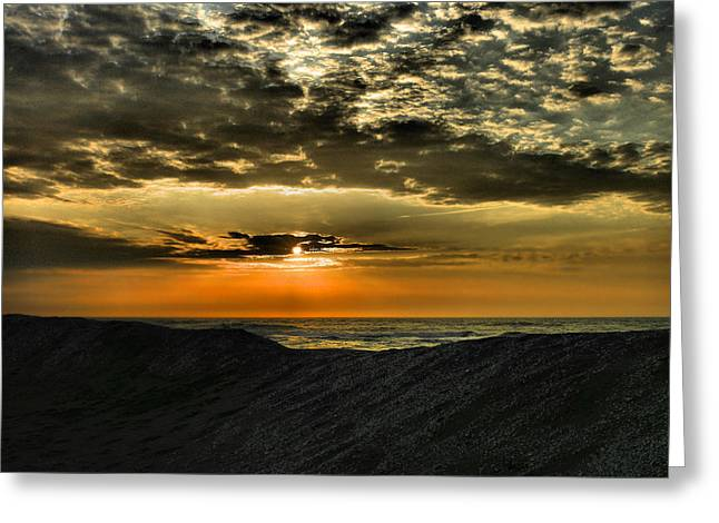 Sunrise Over Assateague II Greeting Card by Steven Ainsworth