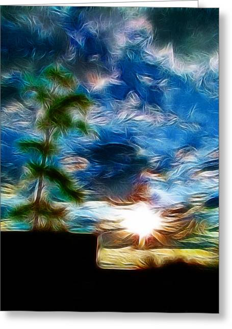 Sunrise Over Smithfield Greeting Card