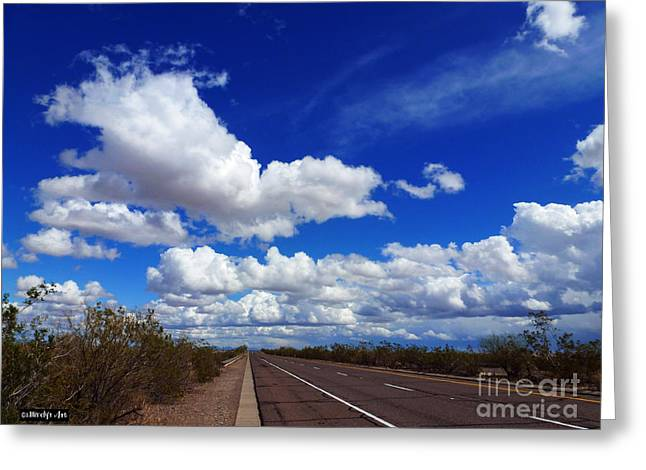 Sunrise Parkway Greeting Card by Methune Hively