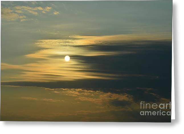 Sunrise Greeting Card by Paulina Roybal