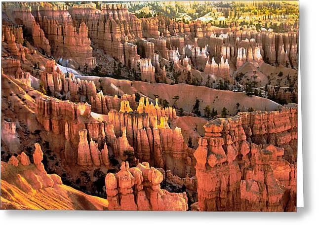 Sunrise Point At Sunrise Greeting Card by Robert Bales