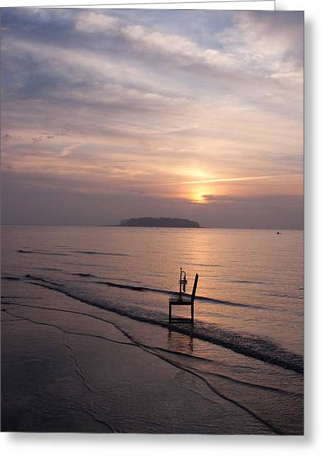 Sunrise Greeting Card by Ron Smith