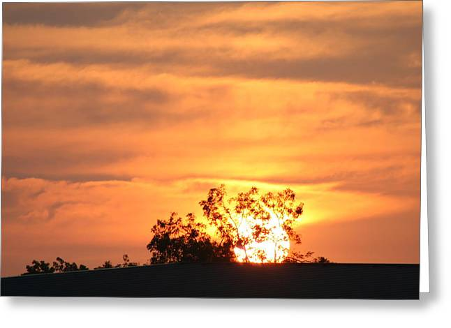 Sunrise Greeting Card by Rusty Voss