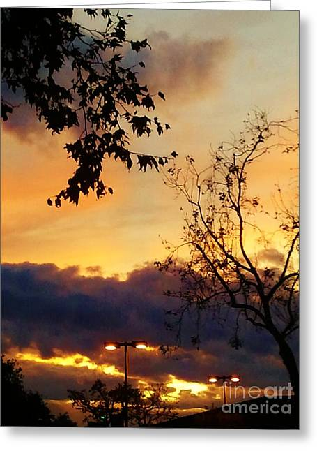 Greeting Card featuring the photograph Sunset 2 by Jasna Gopic