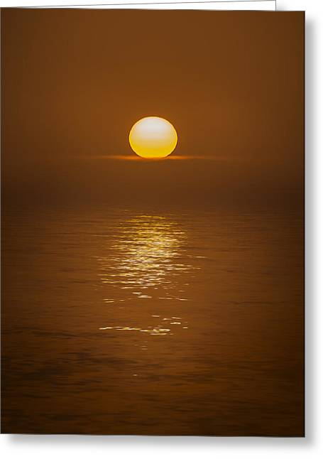 Sunset At Hoopers Point Greeting Card by Andy Astbury