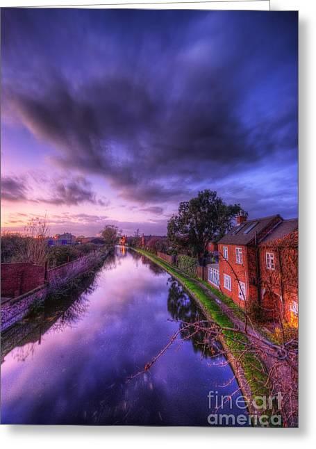 Sunset At Loughborough Greeting Card by Yhun Suarez