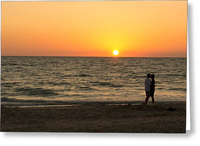 Sunset Embrace Greeting Card