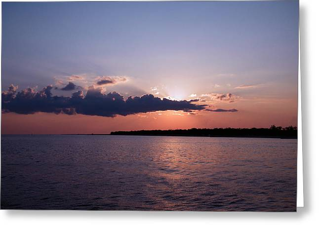 Greeting Card featuring the photograph Sunset In The Pass by Brian Wright